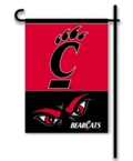 Cincinnati Bearcats 2-Sided Garden Flag
