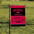 Arkansas Razorbacks 2-Sided Garden Flag
