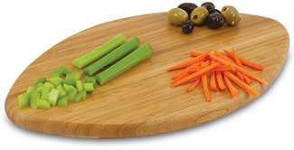 Football Touchdown Cutting Board Bottom